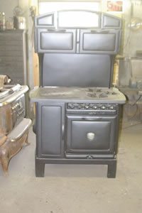 Figure 2109.4 STOVE INSTALLATION CLEARANCES